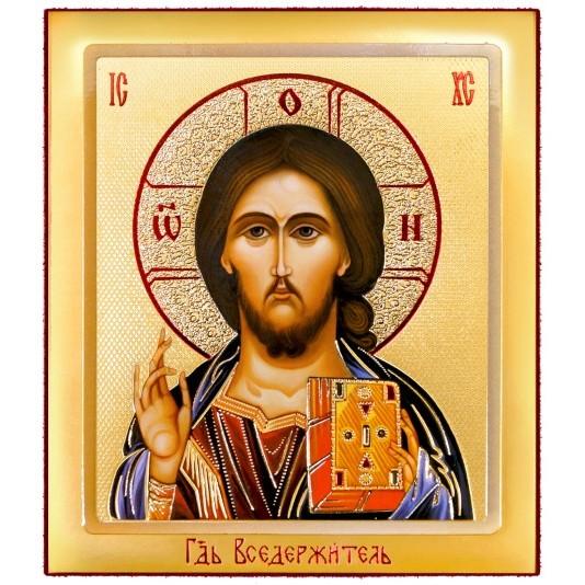 Икона на доске Спаситель