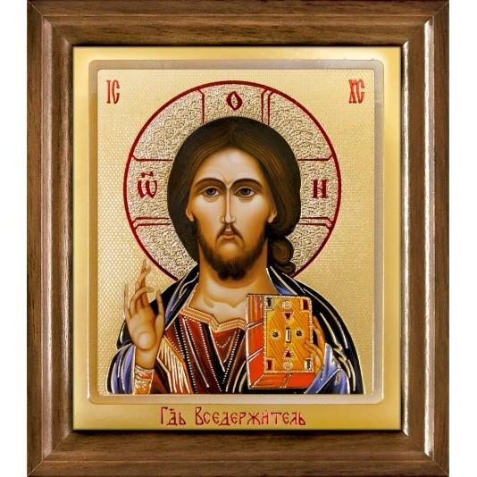 Икона Спаситель одиночная рамка ковчег