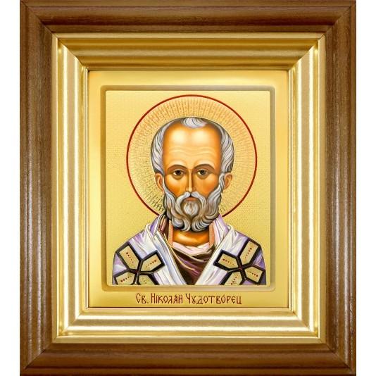 икона Святой Николай Чудотворец ковчег