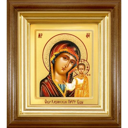 Икона Казанская Б. М. ковчег