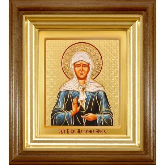Икона Святая Матрона Блаженная ковчег