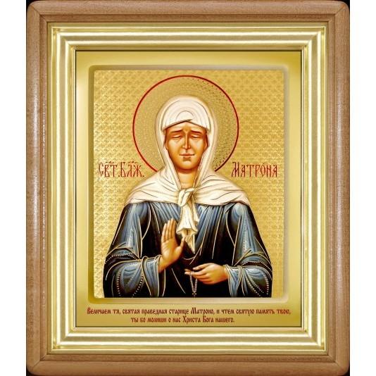 Икона Святая Матрона Блаженная