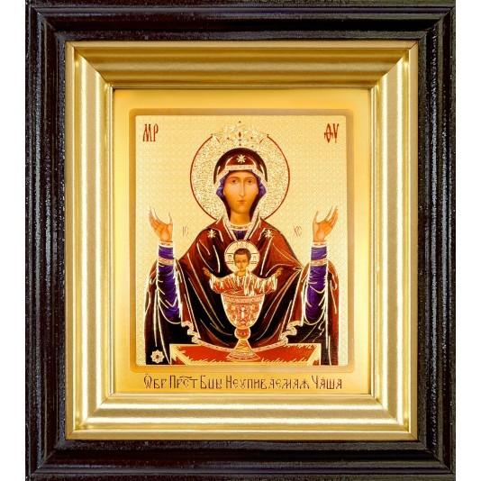 Икона Неупиваемая Чаша Б. М. ковчег малое стекло