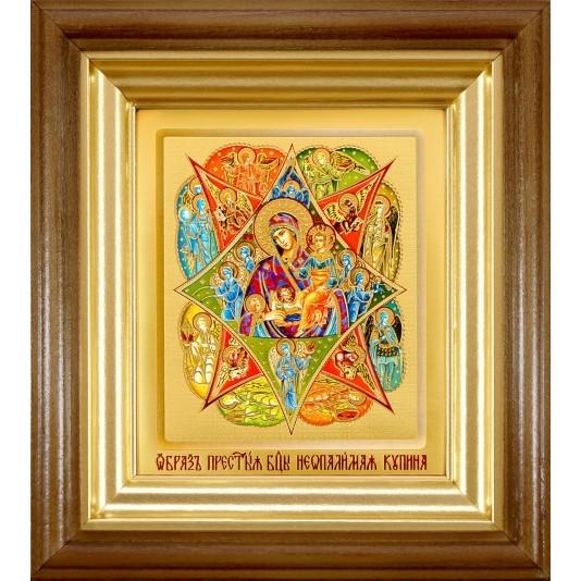 Икона Неопалимая Купина Б. М. ковчег малое