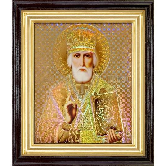 Святой Николай Чудотворец голография
