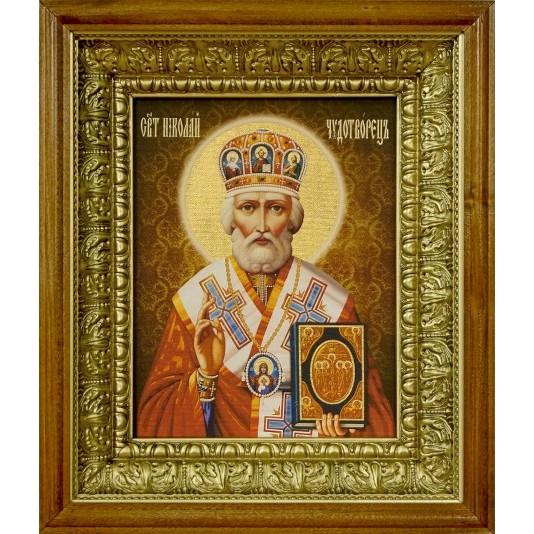 Икона аналойдная Святой Николай Чудотворец
