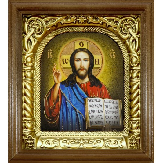 Икона Cпаситель риза арка