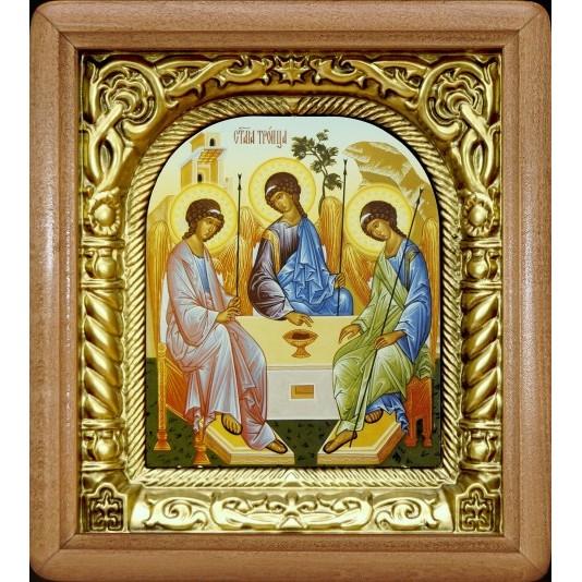 Икона Святая Троица риза арка