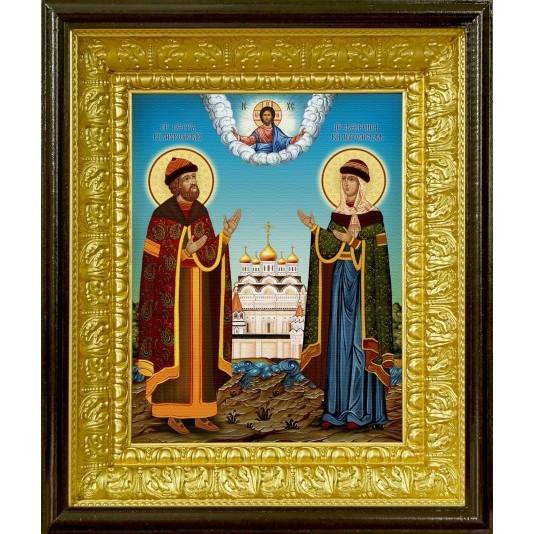 Икона аналойная Петр и Феврония от производителя