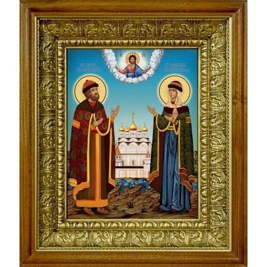 Икона аналойная Петр и Феврония