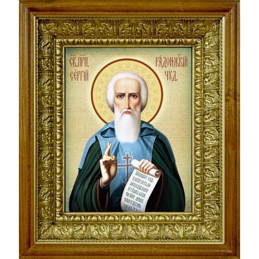 Икона аналойная Св. Сергий Радонежский