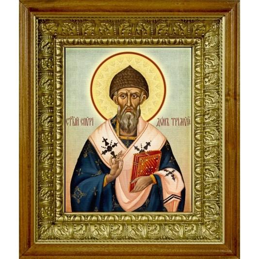 Икона аналойная Св. Спиридон Тримифунтский