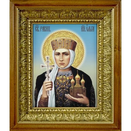 Икона аналойная Св. Равноапостольная  княгиня Ольга от производителя