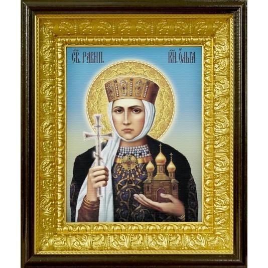 Икона аналойная Св. Равноапостольная  княгиня Ольга