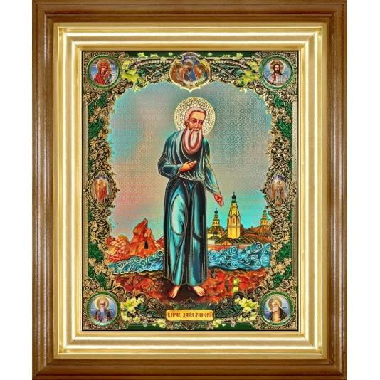 Икона Даниил Ачинский полиграфия