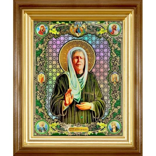 Св. Матрона Блаженная полиграфия большая классика