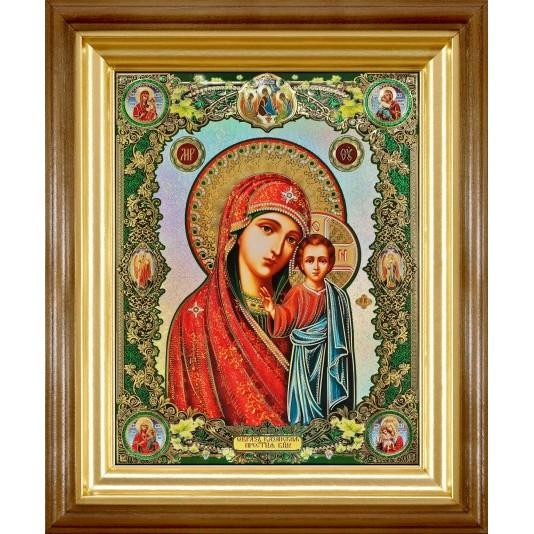 Икона Казанская Б. М. полиграфия большая классика