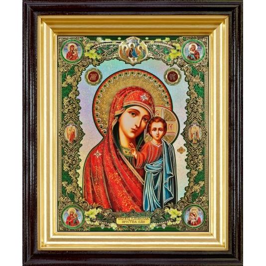 Икона Казанская Б. М. полиграфия большая