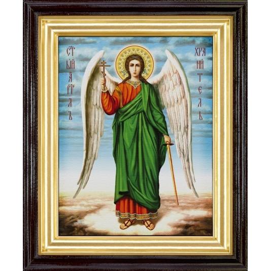 Икона Ангел Хранитель холста большой