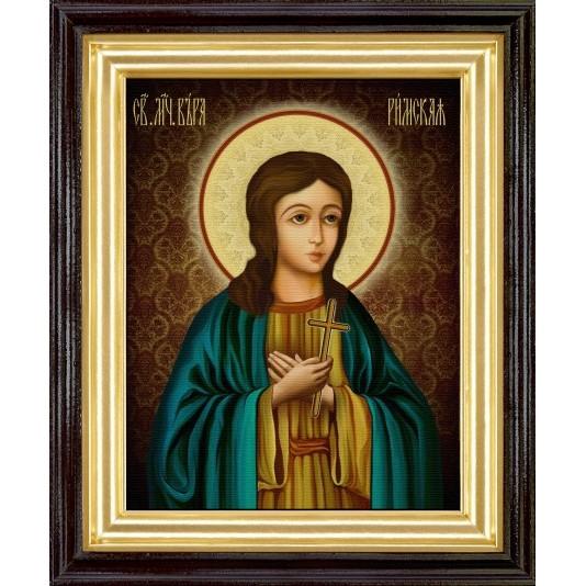 Икона Вера Римская холст большой
