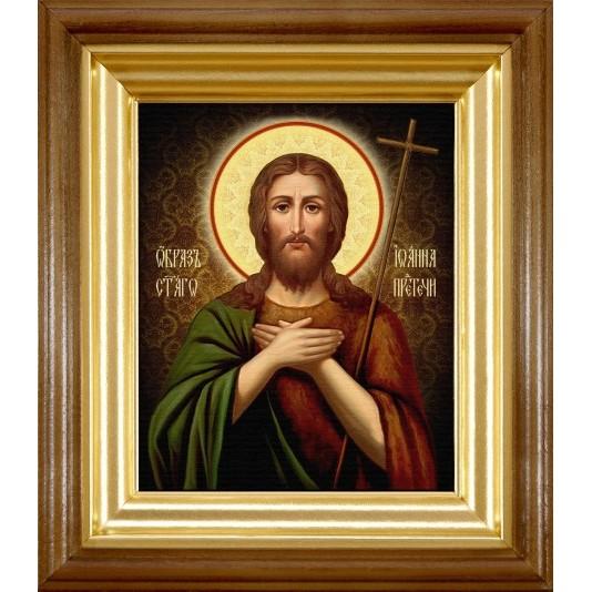 Икона Иоанн Предтечи холст