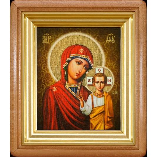 Икона Казанская Б. М. холст малый