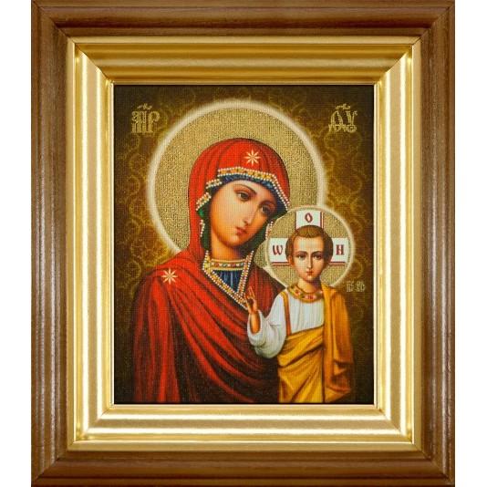 Икона Казанская Б. М. холст