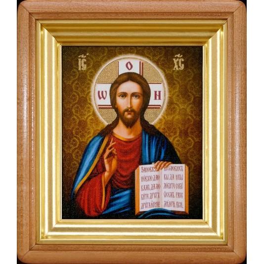 Икона Спаситель холст