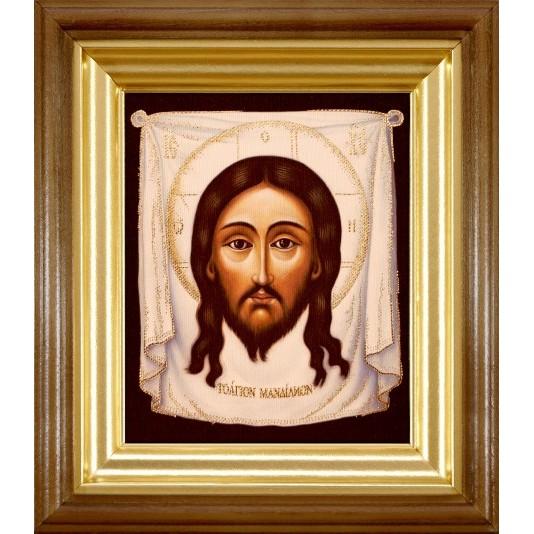 Икона Спас Нерукотворный холст