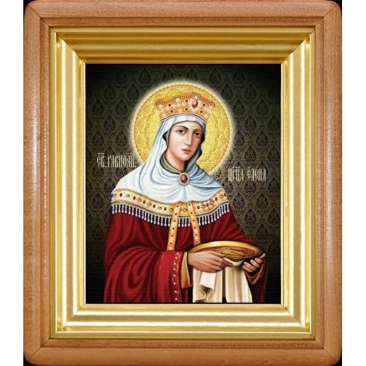 Икона Царица Елена холст малый