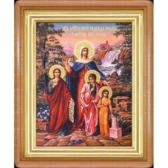 Вера Надежда Любовь и матерь их Софья холст большой