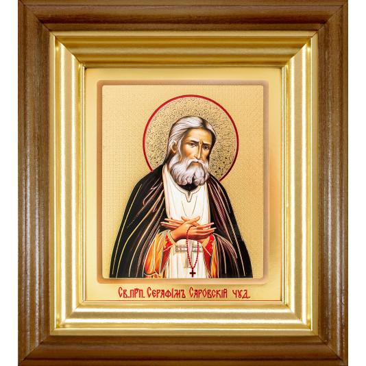 Икона Серафим Саровский классика ковчег малая