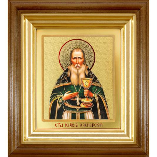 Икона Иоанн Оленевский ковчег классика