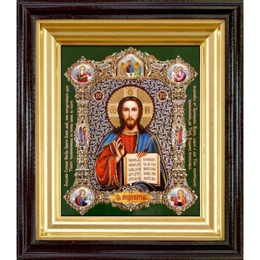 Икона Спаситель Полиграфия малая