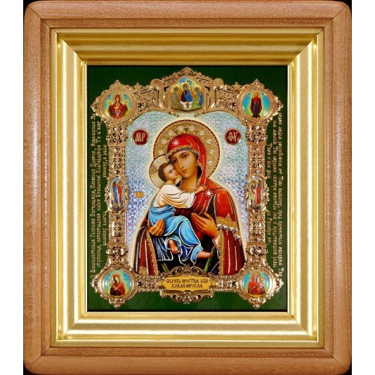 Икона Владимирская Б. М.