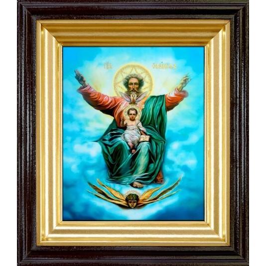 Икона Господь Саваоф полиграфия малая