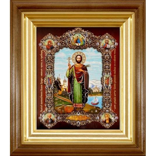 Икона Иоанн Сочавский полиграфия малая