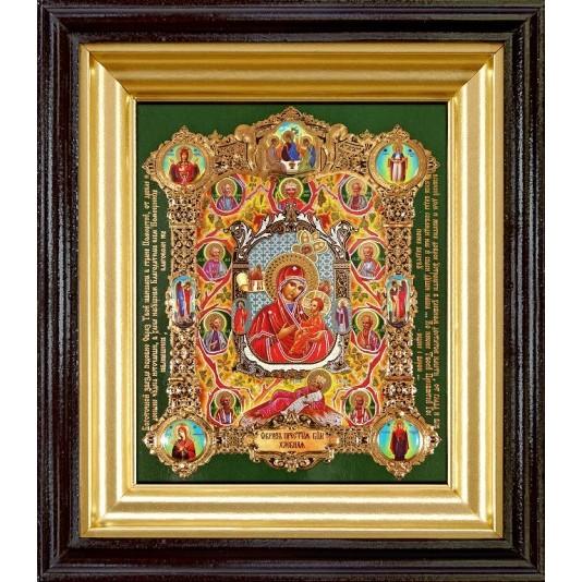 Купить икону Хлебная Б. М. полиграфия малая