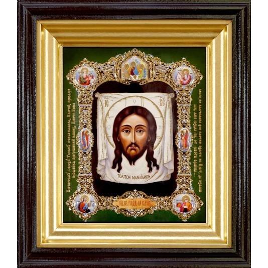 Купить икону Спас нерукотворный полиграфия малая от производителя в Пензе
