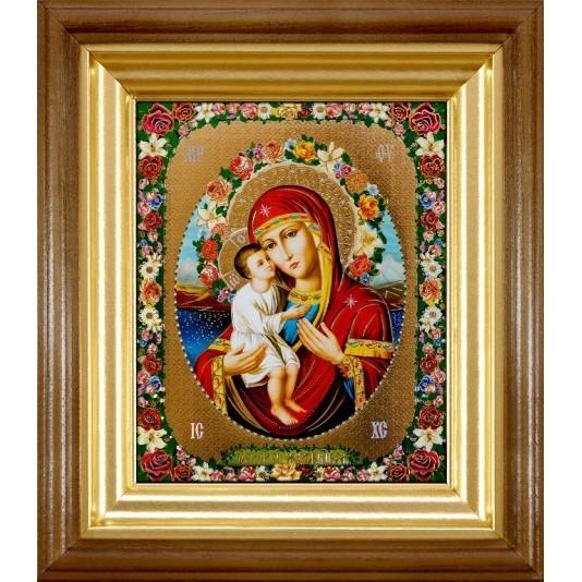 Икона Жировицкая Б. М. полиграфия малая