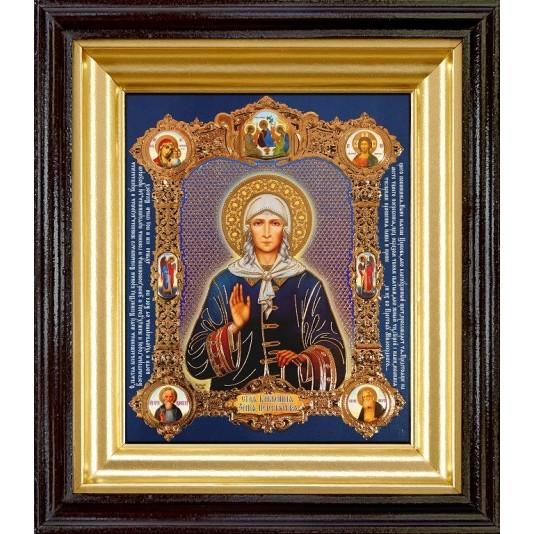 Икона Св. Ксения Петербуржская полиграфия малая