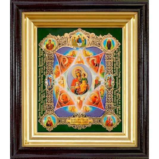 Икона Неопалимая Купина Б. М.