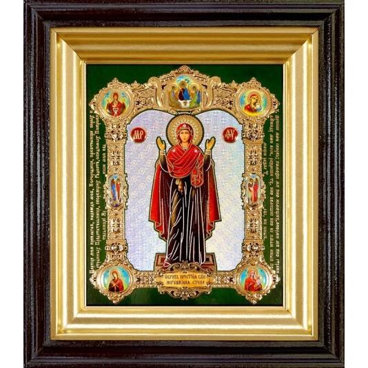 Икона Нерушимая Стена Б. М. полиграфия малая