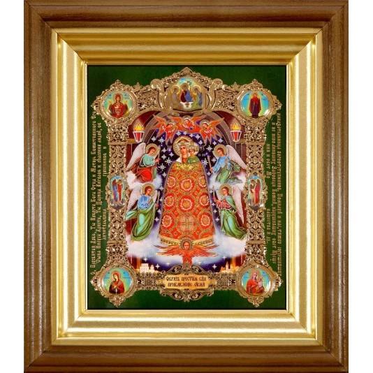 Икона Прибавление Ума Б. М. полиграфия малая