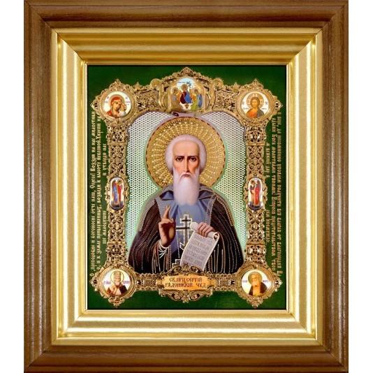 Икона Св. Сергий Радонежский