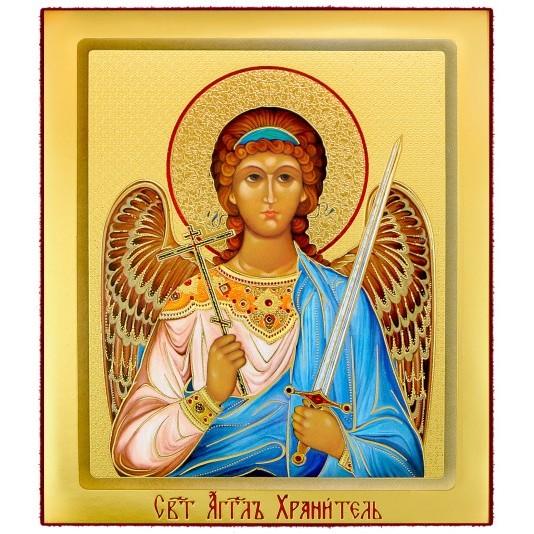Икона на доске Ангел Хранитель