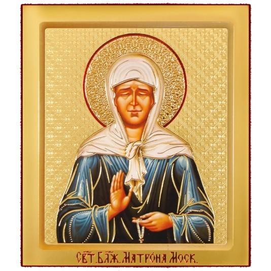 Икона на доске Св. Матрона Блаженная